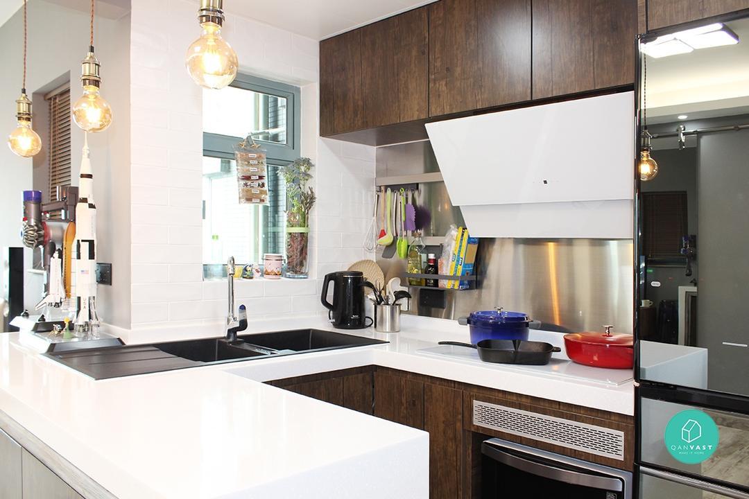 廚房裝修指南:翻新三大絕招 | Qanvast