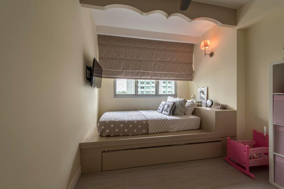 Platform Bed  Interior Design Singapore  Interior Design