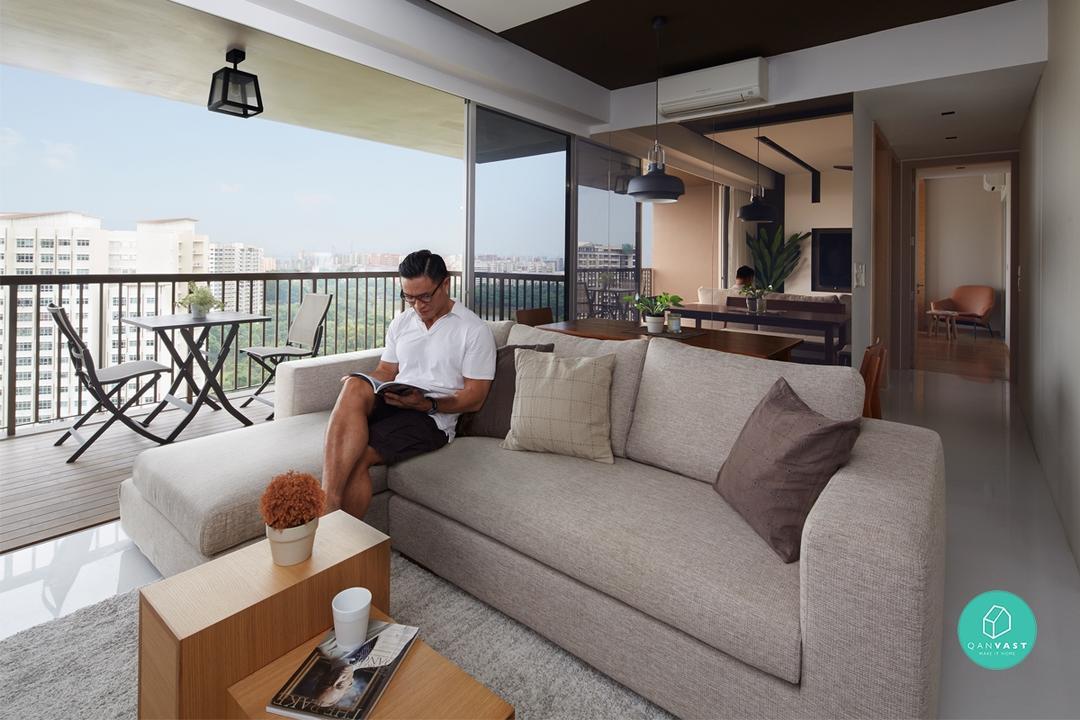 condo interior design ideas living room purple couch designs smart for small condos qanvast