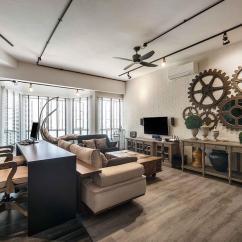 Condo Interior Design Ideas Living Room Paint With Dark Brown Furniture Smart For Small Condos Qanvast