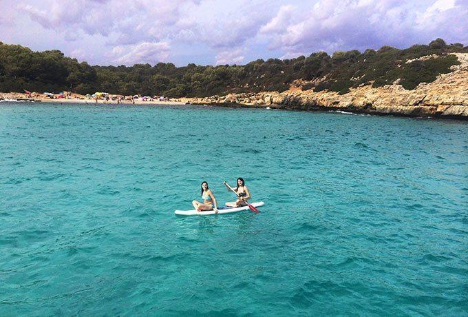 Paddle Boarding in Mallorca