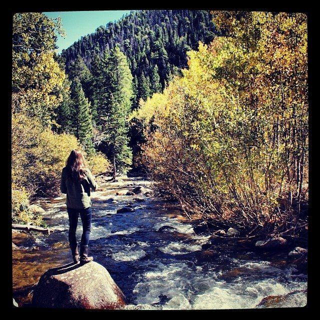 Fall in Colorado Blue Mountain Belle
