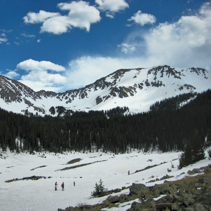 Taos Mountain Snowshoeing | Blue Mountain Belle