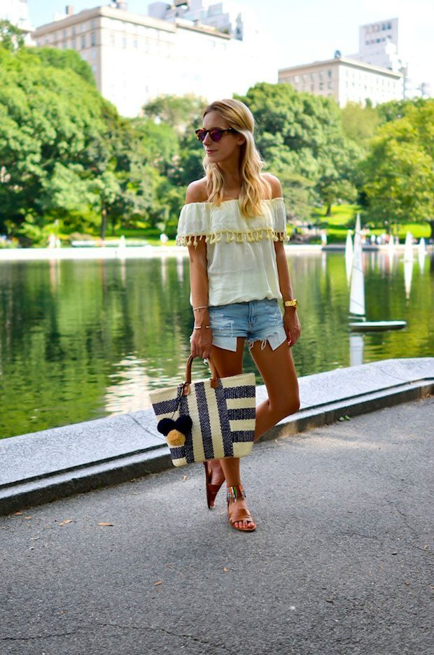 Off the Shoulder Style - Katie Bliss