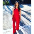 Black Halo Red Jumpsuit | Blue Mountain Belle