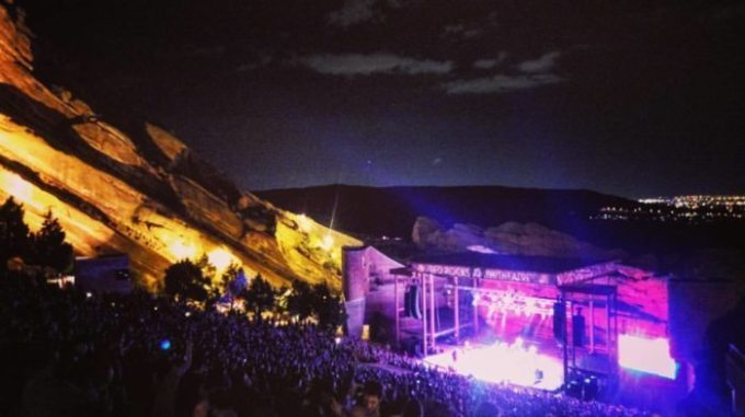 Red Rocks Morrison, CO 2016