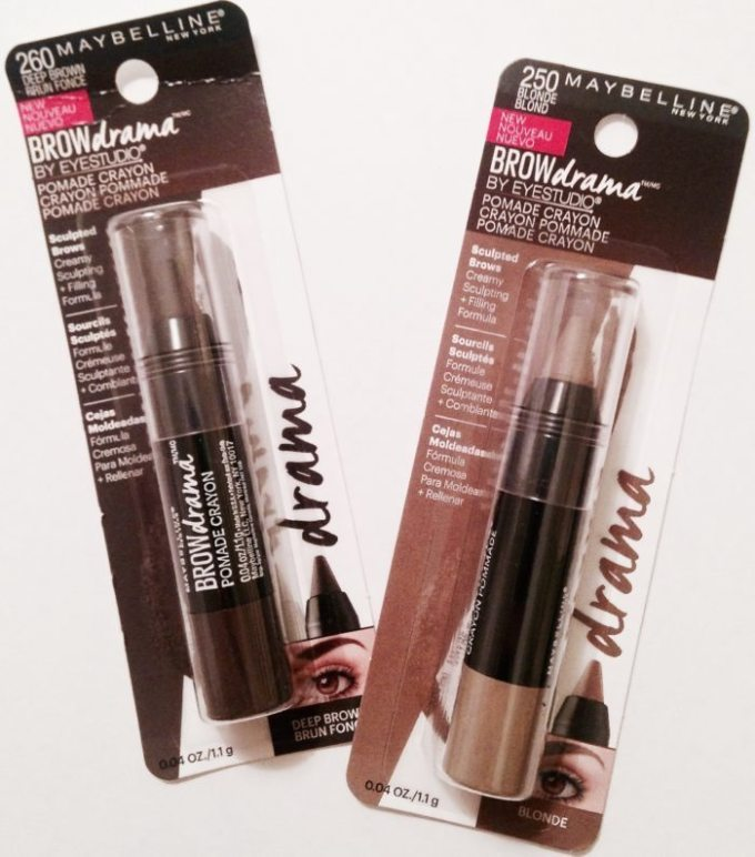 Maybelline EYESTUDIO® BROW DRAMA® POMADE CRAYON IN SOFT BROWN