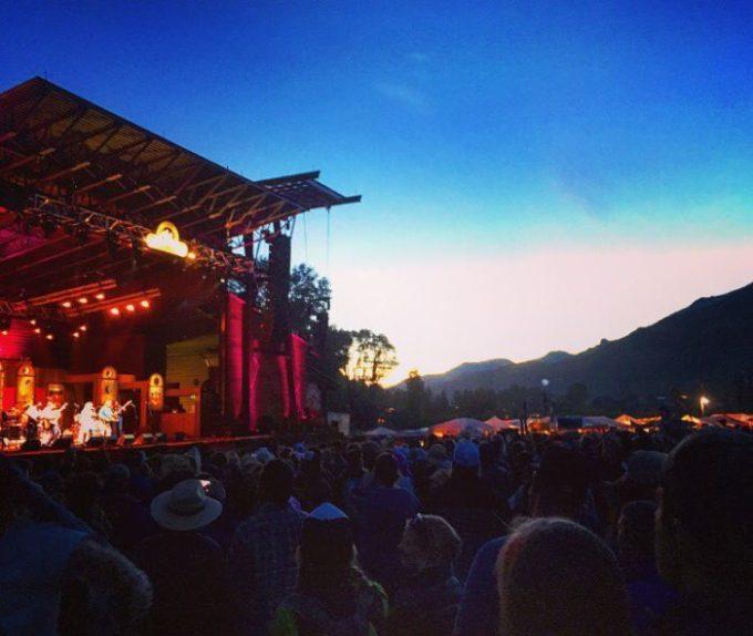 Telluride Bluegrass 2016   Blue Mountain Belle