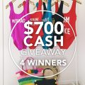 $700 Cash Giveaway!