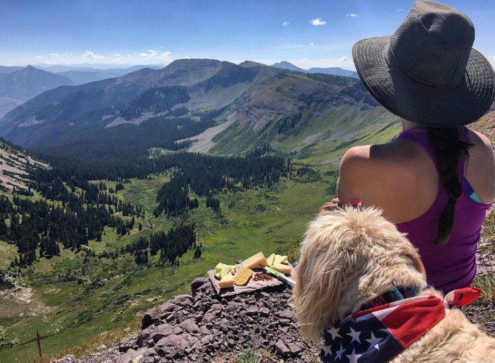 Colorado Road trip: Crested Butte - Scarpa's ridge hike