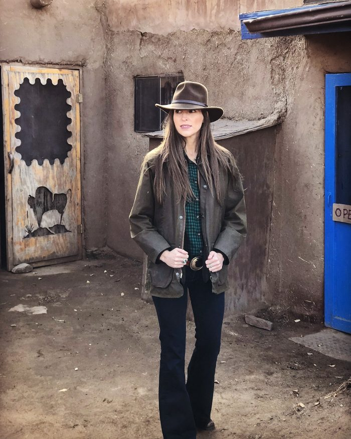 Blue Mountain Belle's Channing Morris Southwestern Style in Taos, New Mexico