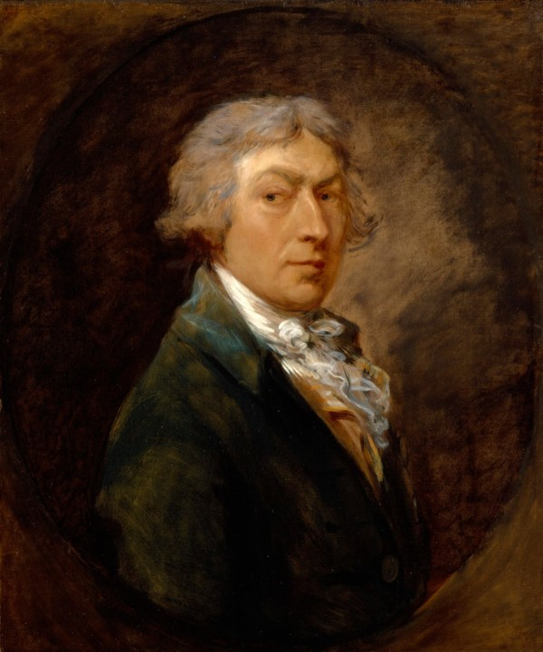 Portrait Of Thomas Gainsborough . Works Art Ra Collection Royal Academy Arts