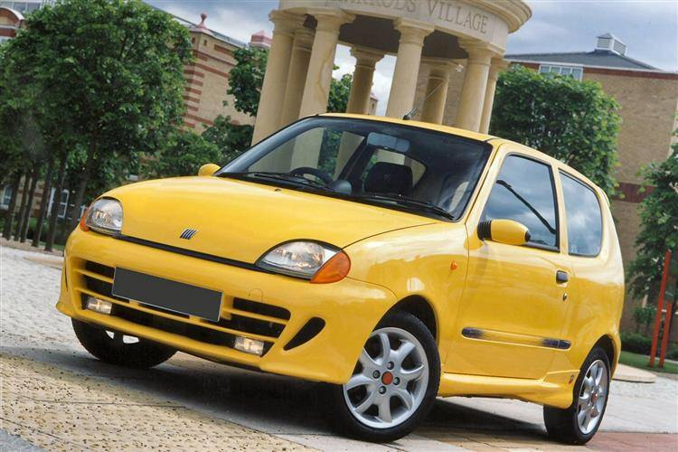 Image result for Fiat Seicento car