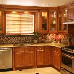 Sears Kitchen Remodeling Counter Stool Solid Wood Vs. Laminate Cabinets - Cabinetry ...