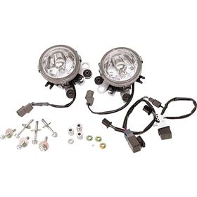 Show Chrome Replacement Lower Fog Light Lens For Honda