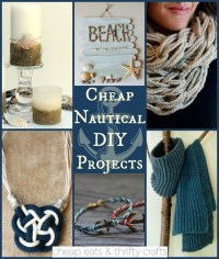 Come Sail Away With These Nautical DIY Projects! - Cheap ...