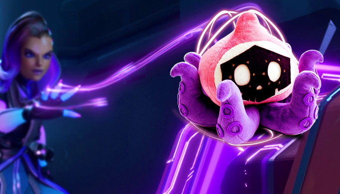 Cute Hacker Wallpaper Sombra Hacked Pachimari Plush Now Available Kill Ping