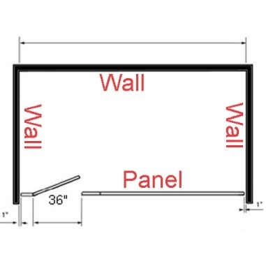 Bathroom Partition Dimensions for Commercial Restroom Stalls