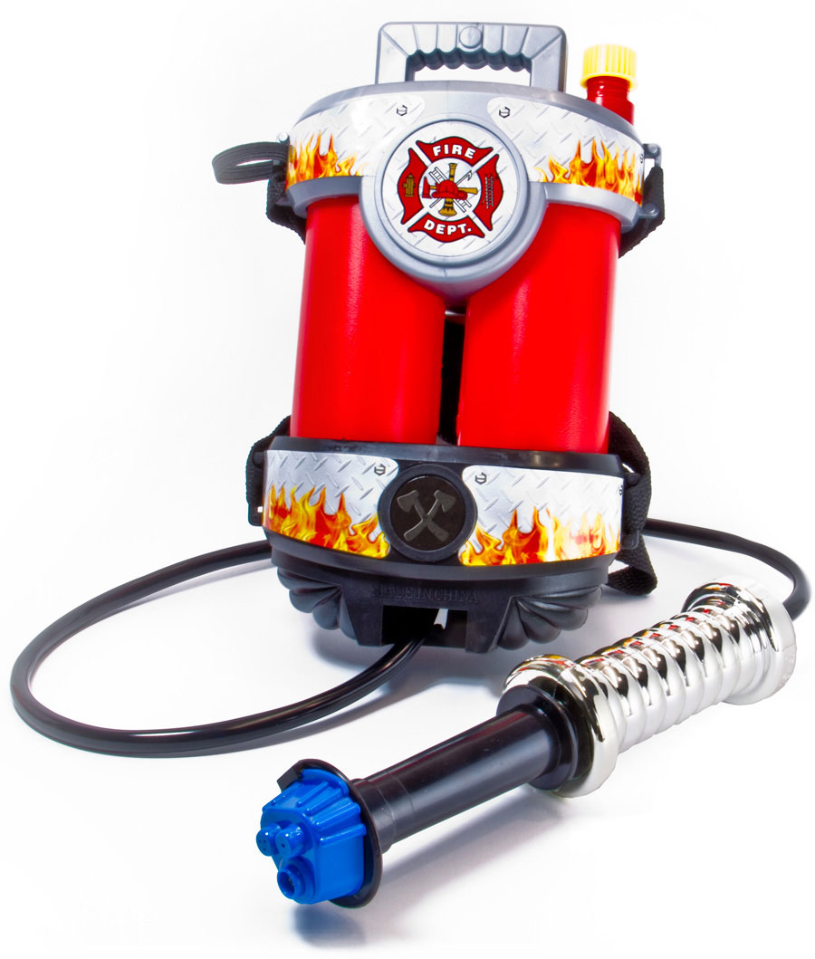 Fire Power Super Soaking Fire Hose with Backpack