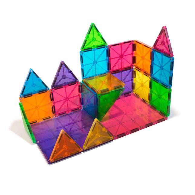 magna tiles clear colors 32 pc set