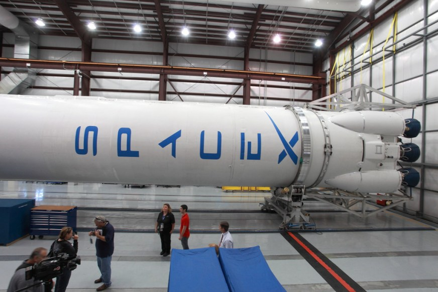 Here There Be Dragons: SpaceX's Spacecraft Arrives at ...