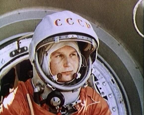 Cosmonauta soviética Valentina Tereshkova fue la primera mujer lanzada al espacio hace 50 años a bordo de Vostok el 16 de junio de 1963.  Crédito: Roscosmos