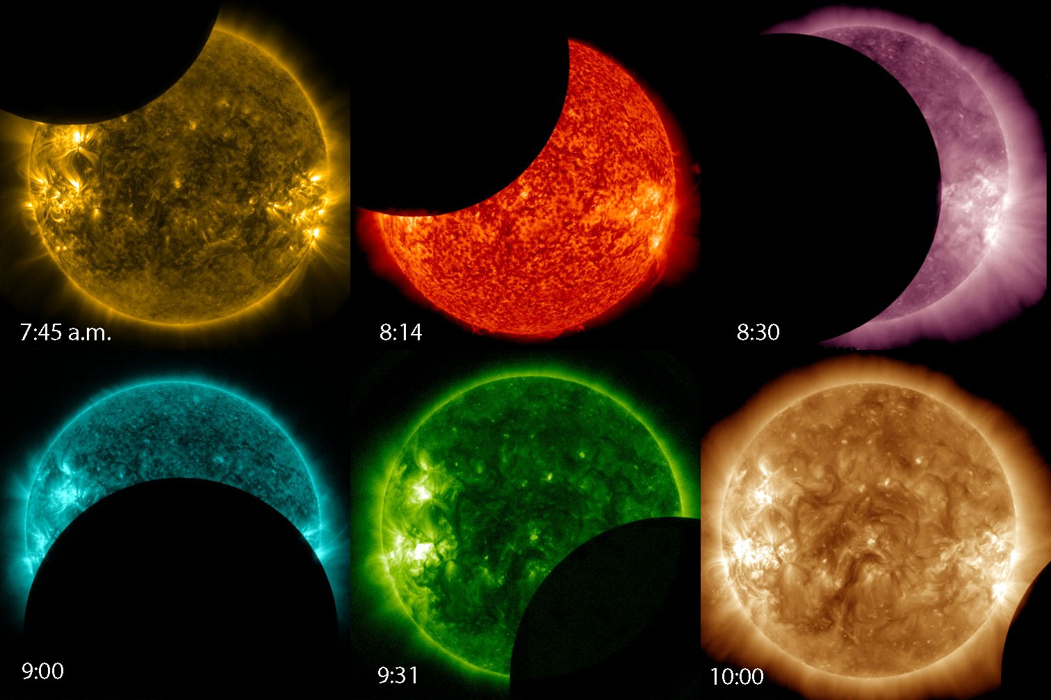 A Secret Solar Eclipse From Outer Space