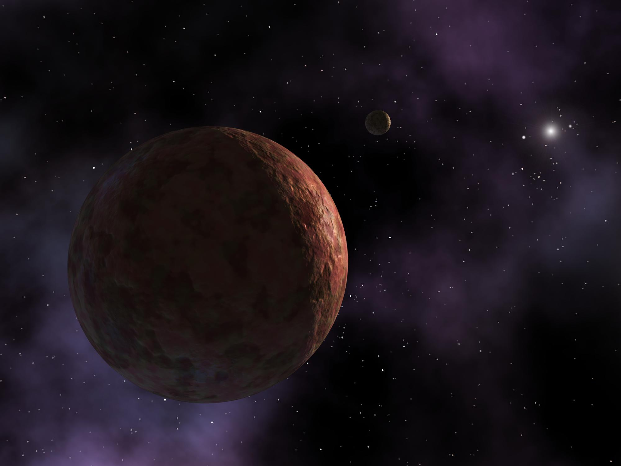 Discovery Possible Dwarf Planet Found Far Beyond Pluto S