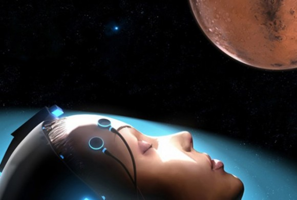 "Artist's concept of ""sleeping to Mars"". Photo Credit: SpaceWorks Enterprising"