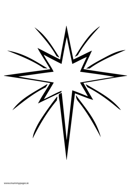 Christmas star, star, light,