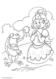 Fairytale Colouring Pages