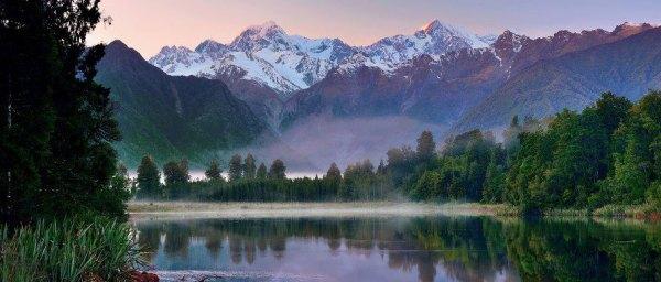 landscapes of zealand