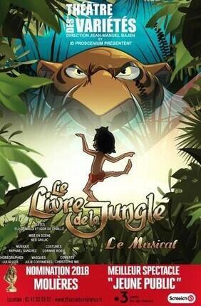 Le Livre De La Jungle Avis : livre, jungle, LIVRE, JUNGLE, THEATRE, VARIETES
