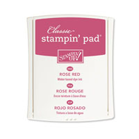 Rose Red Classic Stampin' Pad*