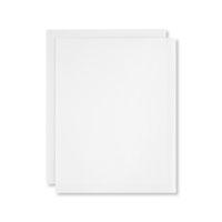 White Vellum A4 Card Stock