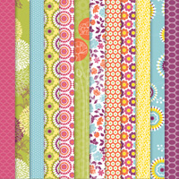 Floral District Designer Series Paper