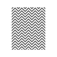 Positively Chevron Wood-Mount Stamp Set