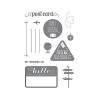 Wanderlust Photopolymer Stamp Set