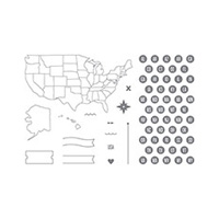 Map It Out Photopolymer Stamp Set