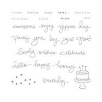 Endless Birthday Wishes Photopolymer Stamp Set