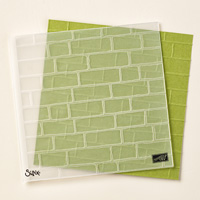 Brick Wall Textured Impressions Embossing Folder