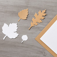 Kraft And White Corrugated Paper