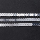 Silver Sequin Trim