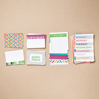 This Is The Life Project Life Card Collection