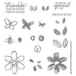 Garden In Bloom Photopolymer Stamp Set