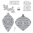 Embellished Ornaments Clear-Mount Stamp Set