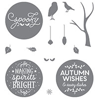 Among The Branches Photopolymer Stamp Set