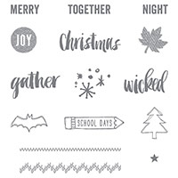 Project Life Seasonal Snapshot 2015 Photopolymer Stamp Set