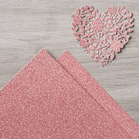 Blushing Bride Glimmer Paper