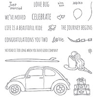 Beautiful Ride Photopolymer Stamp Set